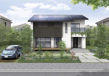 屋根は建物の快適性や耐久性、省エネ性までも左右する重要な場所。雨や雪、風を防ぎ、日射から守る一方で、太陽の恵みを活かすことも両立したのが「ロイヤルスマートルーフ」だ。より多く発電できるよう屋根の面積や形に配慮するとともに、スタイリッシュな外観をつくれる