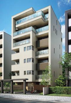 出来るだけ多くの賃貸住宅を確保したうえで、1階を医院。5~7階を自宅にした7階建