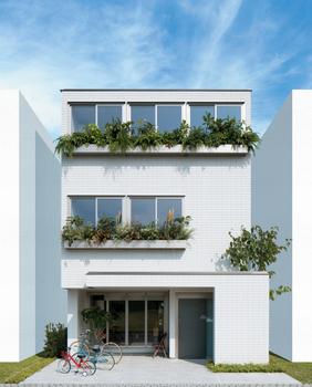 周囲を建物に囲まれた立地でも、広さや明るさを採り入れる都市型フォルム。柱だけで支える頑強な構造特性を活かしたオープンな空間や全面開口。部分的に床を上げ下げする、吹抜けを設けるなど、細やかに床を操作することで、ひとつの家のなかに様々な高さの居場所をつくり出す設計手法。建物自体の高さを変えることなく、空間の広がりや心地よさを生み出す、ヘーベルハウスならではのアイデア