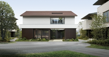 ひとつ上の上質な住まいを提案するGENIUS「GATE」。親世帯と子世帯がのびやかな暮らしを楽しみながら、地域とつながっていく多世帯交居の住まい。親から子へと受け継がれ、未来を拓く新しい住まい方がここにある