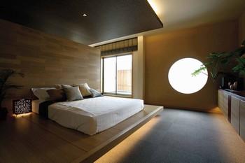 疲れた身体や心を癒し、本当の自分に還るための、くつろぎの寝室