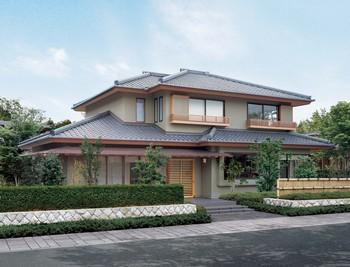 本格的な日本家屋に取り組むハウスメーカーは意外にも少ない。多大な手間が掛かるからだ。良質な部材や素材を調達し、日本人の工夫や知恵を活かす意匠付けを行い、匠の技を隅々まで発揮する。主要構造材はすべて気候風土に合う「国産材」を使い、バランス耐震技術で揺るぎない構造を実現する。そして一幅の絵のように庭を切り取る地窓や雪見障子や、広縁や土間などの風情も付加していく。このような手間も技も感性も要求される本格的な日本家屋を創造できるのは、300年も掛けて森を育ててきた住友林業ならではであろう
