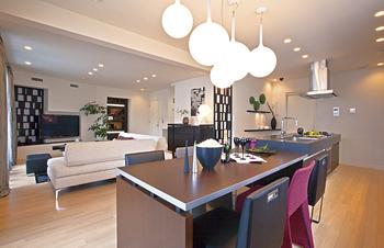 dining room-家事動線を考慮することで機能とデザインを両立