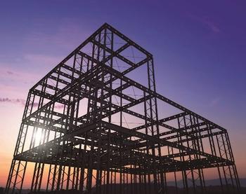 邸宅の品質を創る、圧倒的な強度と自由度。その秘密は強靭かつしなやかな鉄の特性を最大限活用した構造躯体