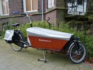 アムステルダムの自転車2