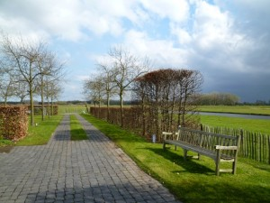 Piet Boon自邸の庭