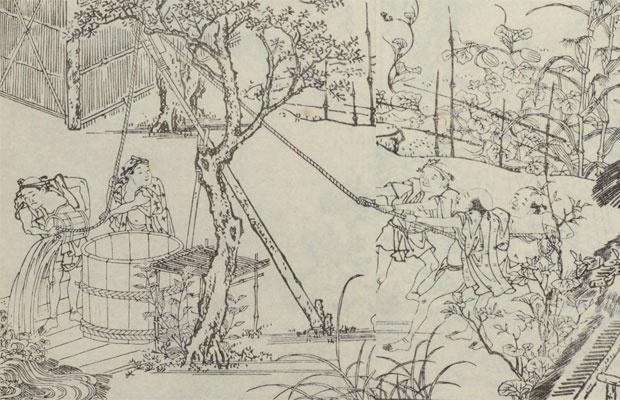 歌舞伎や落語に出てくる「井戸替え」は江戸の夏の風物詩