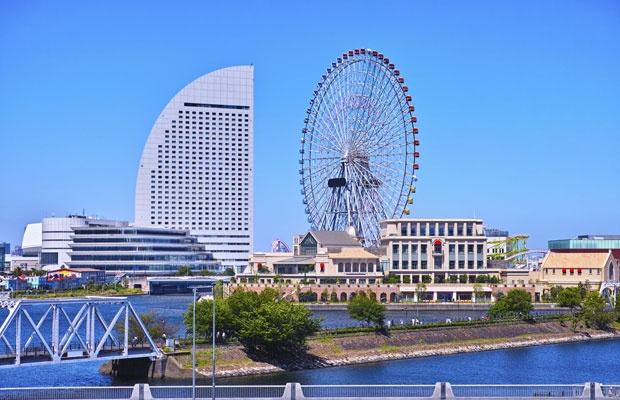 横浜のみなとみらい駅周辺の風景。横浜駅はここから電車で10分ほどの距離にある(写真:iStock / thinkstock)