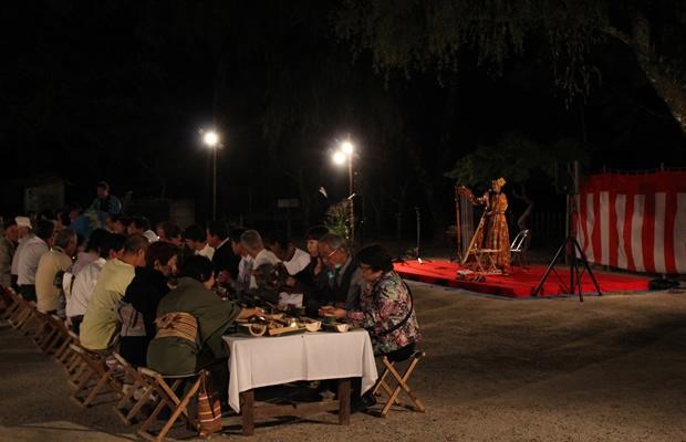 中秋の名月を100人規模の宴で楽しむ!香嵐渓月見の会とは?(画像提供:足助観光協会)