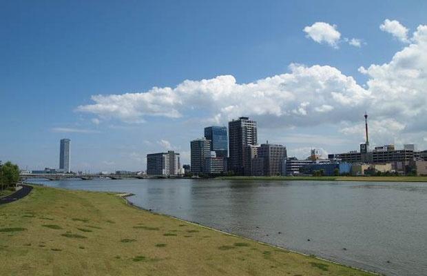 本州日本海側で初めて政令指定都市になった新潟市(写真撮影:筆者)