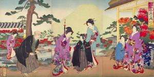 江戸時代に生まれた秋の菊ブーム。それに便乗する歌舞伎も登場