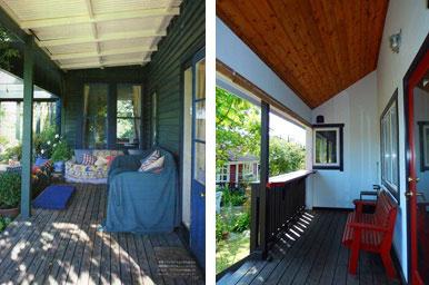【画像1】理想の住宅写真(左)と今の住宅(右)。1枚の写真から暮らしを想像して住まいづくりを始めた(画像提供:寺田美奈子さん)