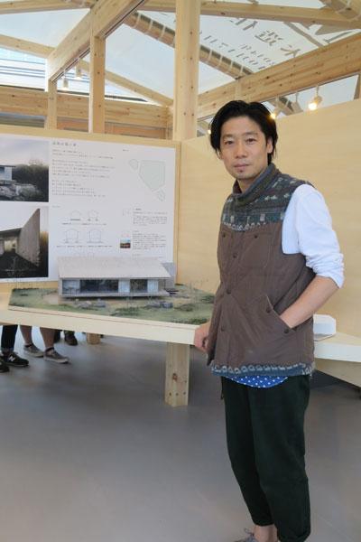 【画像5】「自然のままの立地、機能が限定されていない空間に可能性を感じます」谷尻誠さん(サポーズデザインオフィス)(写真撮影:藤井繁子)