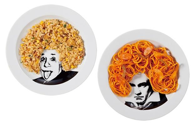 芸術の秋と食欲の秋をまとめてしまうオモシロ食器たち!(画像提供:サンアート)
