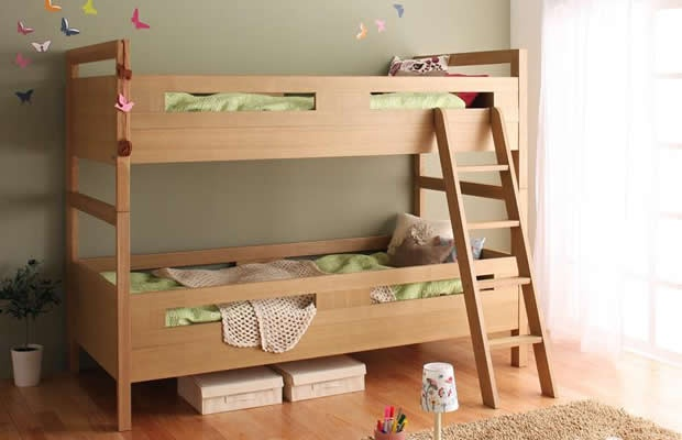 最近どんな二段ベッドが人気なの? 最新事情を探ってみた(画像提供:株式会社マルトク家具)