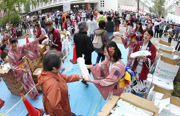 野菜の無料配布? 東京農業大学の『収穫祭』に迫る(画像提供:Round House)
