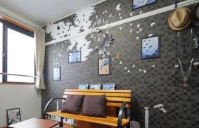 壁紙を選べる賃貸で楽しむDIY。ウォールアートカスタマイズの魅力