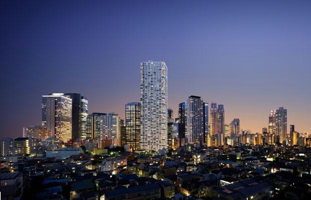 東京再開発マップ2020<新宿>都庁近くに60階超高層マンション誕生(画像提供:三菱地所レジデンス)
