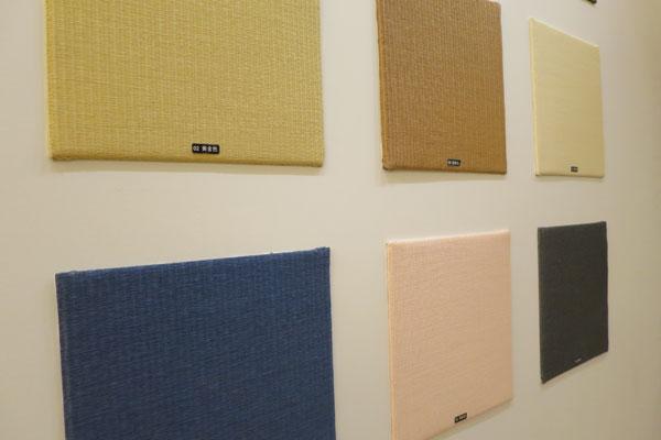【画像2】畳の色もネイビーやピンクまで幅広く用意されているので、思い切った色にチャレンジすることも(写真撮影:末吉陽子)
