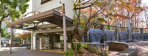 【画像2】2位にランクインした東高円寺駅。駅前には緑豊かな「蚕糸の森公園」がある(撮影:鈴木健児)