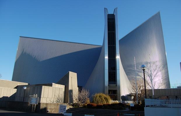 クリスマスは、デザインがすごい教会めぐりはいかが?(画像提供:カトリック東京カテドラル関口教会)