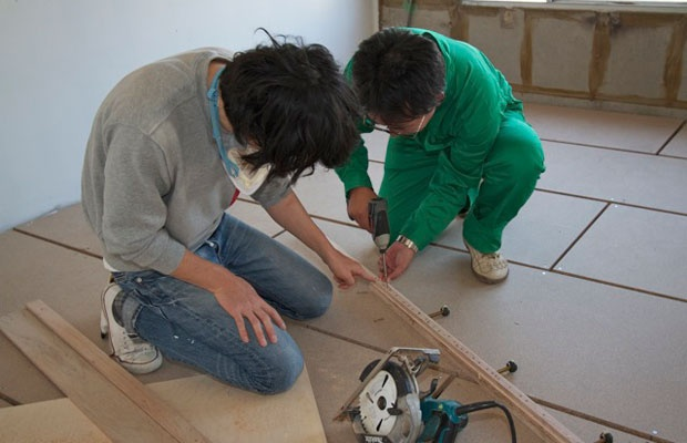 DIY×リノベーション×ワークショップ…夢の組み合わせで何ができる?(写真撮影:井村幸治)
