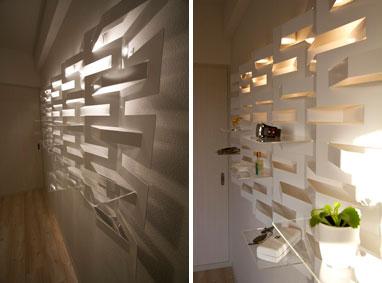 【画像3】カーテンを閉めた状態(左)と自然光が差し込む状態(右)では、それぞれ違う表情をみせてくれるのが魅力(写真撮影:井村幸治)