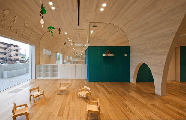 遊ぶ心を最大限に。建築家が設計するオシャレな幼稚園・保育園(画像提供:アーキヴィジョン広谷スタジオ)
