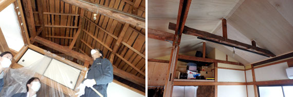 【画像6】私が解体作業に参加した二階部分も、工事が終わってすっかり様変わりをしていた(画像提供:株式会社ユウト)