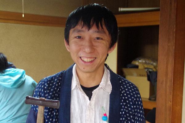 【画像1】全国床張り協会の伊藤洋志さん(写真撮影:玉置豊)
