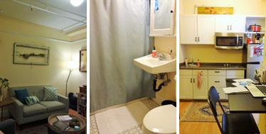 【画像9】オンサイトマネージャーの部屋。リノベーションしているので、新築と遜色ない(撮影:住宅ジャーナリスト/山本久美子)