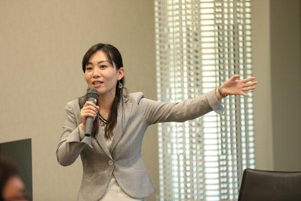 【画像3】吉高美帆さんは「西新宿 CLASS in the forest」のなかでワークショップ主体の防災・減災プログラムを行う(撮影:黒澤崇)