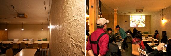 【画像4】石窯や煙突、店内の壁塗りまで店舗のほぼすべてをDIYでつくりあげたそうだ。トークイベントには地元を中心に、リノベーションに関心を持つ人たちが多数集まった(写真撮影:井村幸治)