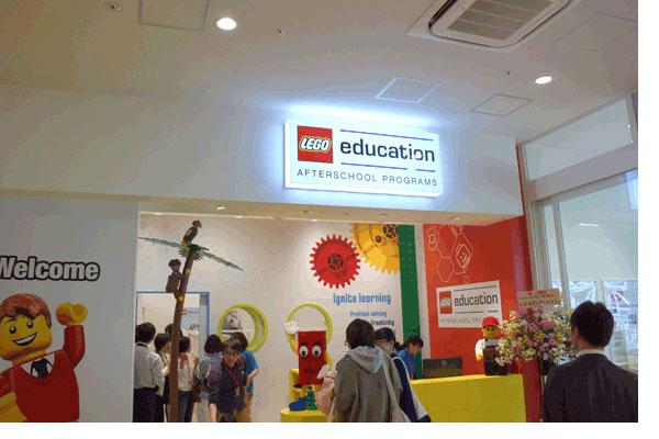 【画像4】日本初出店となるレゴストアに併設する「レゴスクール」(写真撮影:SUUMOジャーナル編集部)