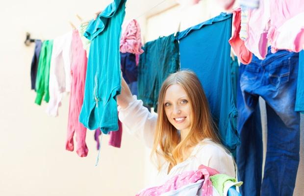 花粉やPM2.5が不安…洗濯物は「部屋干し指数」を見て干すべし(写真: iStock / thinkstock)