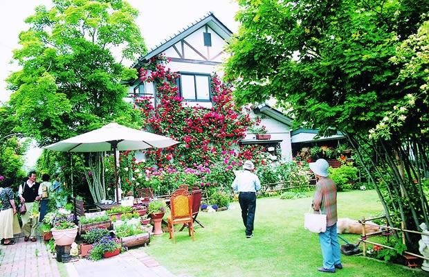 """130軒がお庭を開放。長野県の""""おぶせオープンガーデン""""とは"""