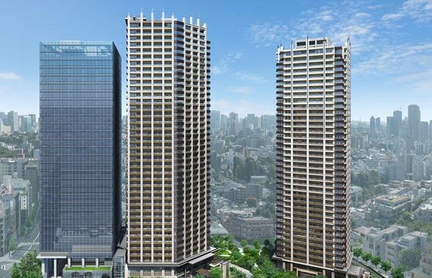 強気の価格も何のその。目黒ツインタワーマンションが人気の理由(画像提供:東京建物)