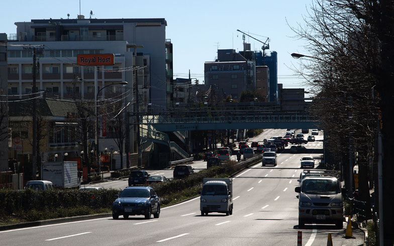 【画像2】環八通り(画像提供:街画ガイド)