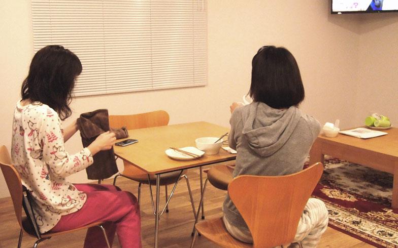 【画像2】シェアハウスでの生活の様子(写真撮影:SUUMOジャーナル編集部)