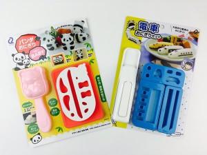 【画像2】パンダおにぎりベビー/電車おにぎりセット(画像提供:渋谷ロフト)