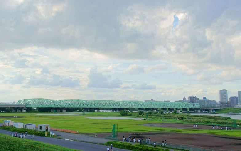 【画像2】荒川の河川敷(写真: whitetag / 123RF 写真素材)