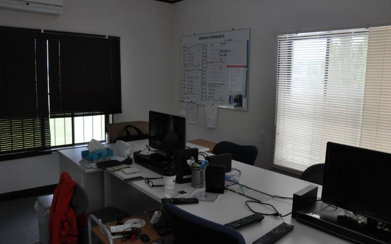 【画像14】離れの2階。監督やコーチングスタッフの仕事場。ネット環境を整備した(写真撮影:嘉屋恭子)