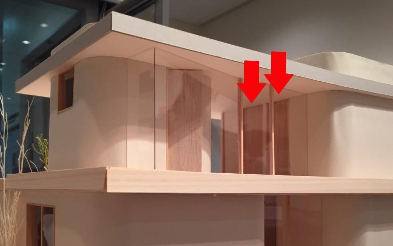 【画像10】カツオとワカメの部屋にはトビラがふたつ。成長したら2部屋に分けられるようなつくりにしています(写真撮影:SUUMOジャーナル編集部)