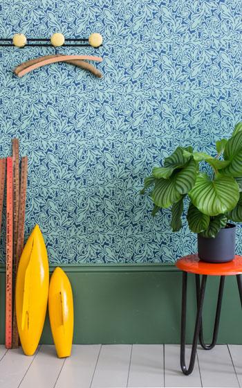 【画像9】FEUILLE(葉):フランスのクチュールデザインから得られた葉っぱがモチーフ(画像提供:カラーワークス社)