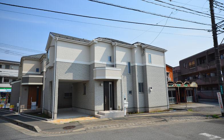 【画像1】購入物件は、神奈川県相模原市の新築建売住宅。設備・部材の仕様は、ごく一般的なタイプ(写真撮影:西村巌)