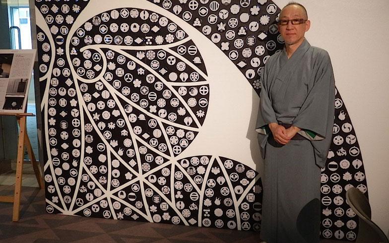 【画像6】紋章上絵師 波戸場承龍さん(写真撮影:石原たきび)
