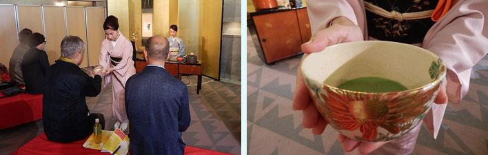 【画像8】華やかなお茶会の様子。器も美しい(写真撮影:石原たきび)