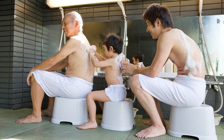 銭湯での作法!体は隠すべき?かけ湯だけで入浴してもいいの?