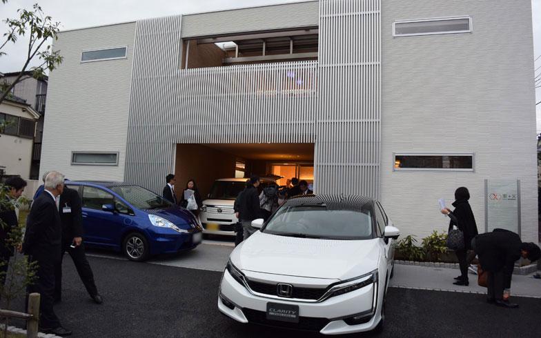 燃料電池車+LPガス+発電機で、災害に強いゼロエネルギー住宅とは