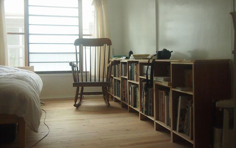 【画像4】2階の住居スペースは入居者であるアーティスト自身がほぼDIYで改修(写真撮影:SUUMOジャーナル編集部)